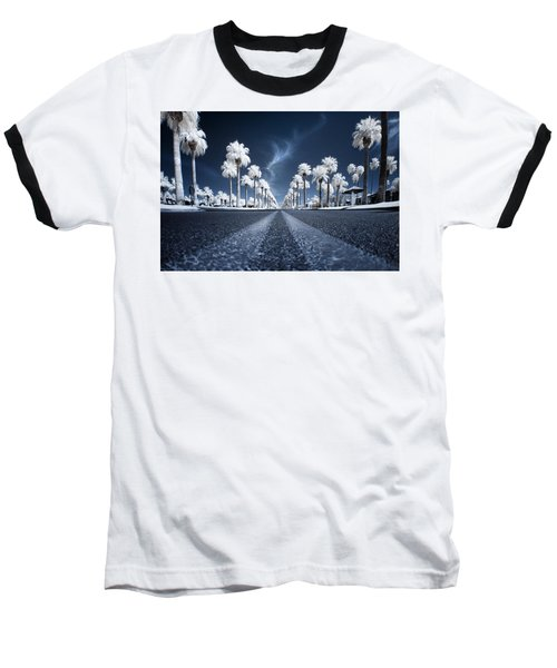 Baseball T-Shirt featuring the photograph X by Sean Foster