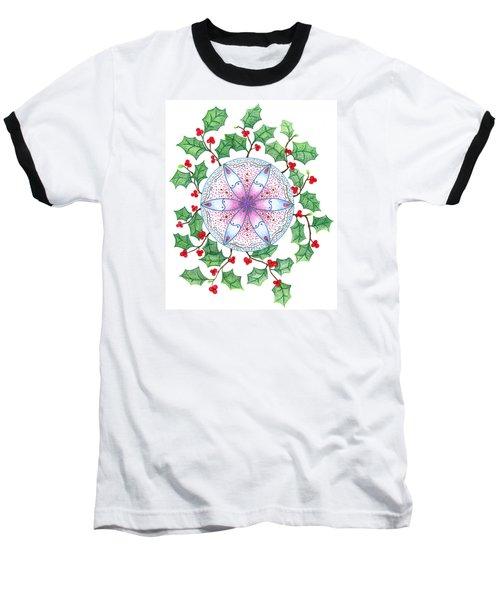 X'mas Wreath Baseball T-Shirt