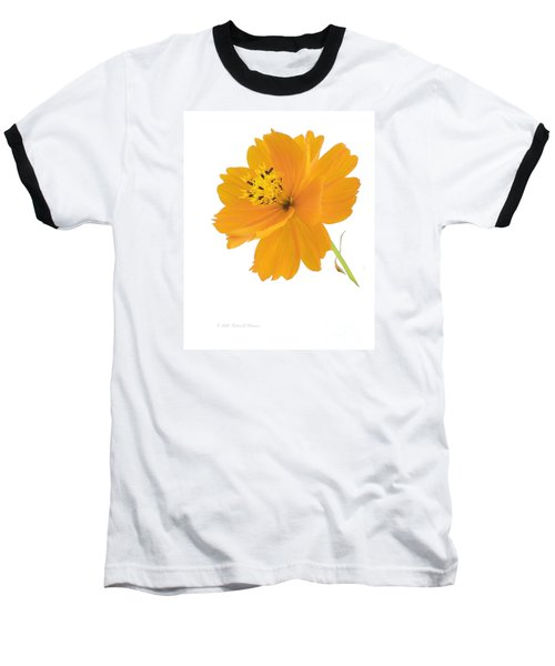 Yellow Coreopsis Baseball T-Shirt