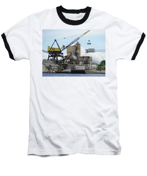 Yellow Crane Baseball T-Shirt