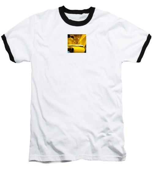 Yellow Tubes Baseball T-Shirt