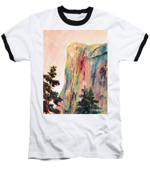 Yosemite El Capitan Baseball T-Shirt