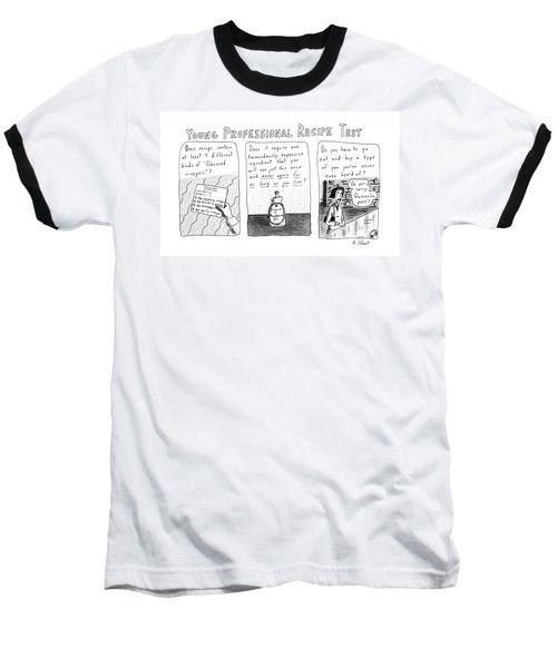 Young Professional Recipe Test Baseball T-Shirt