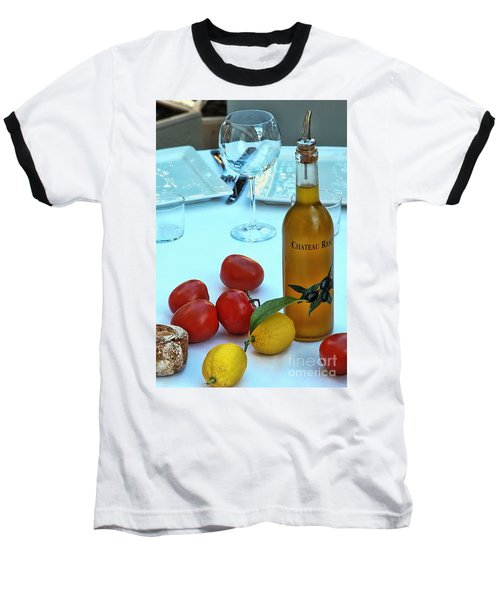 Baseball T-Shirt featuring the photograph Your Table Is Ready by Allen Beatty