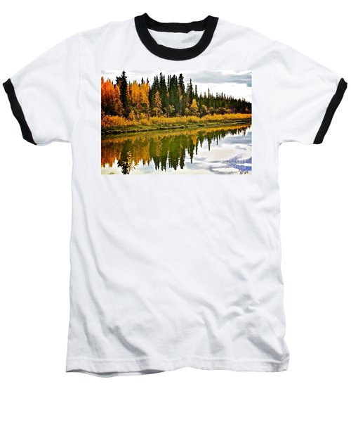 Yukon Autumn Baseball T-Shirt