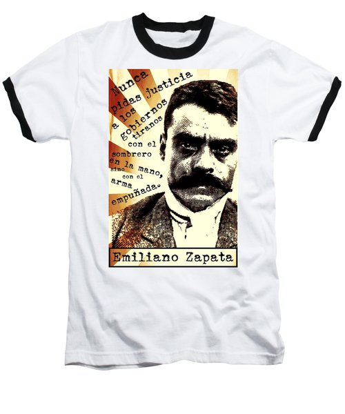 Zapatismo Baseball T-Shirt