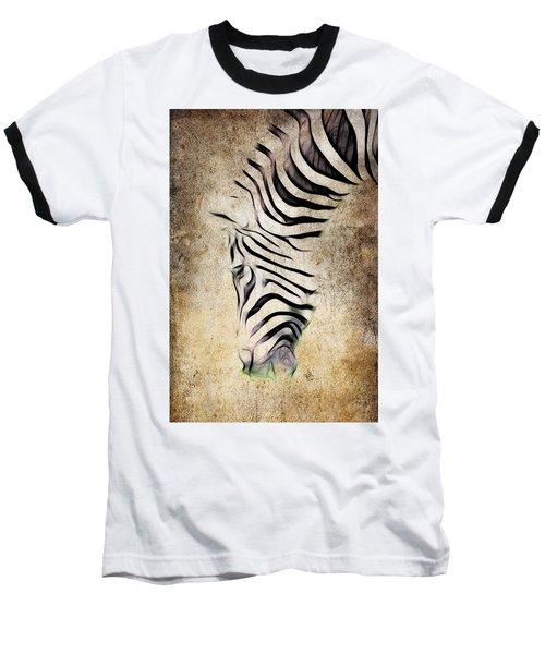 Zebra Fade Baseball T-Shirt