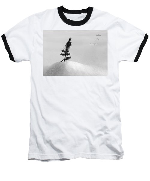 Baseball T-Shirt featuring the photograph Zen Wisdom Stillness by Peter v Quenter