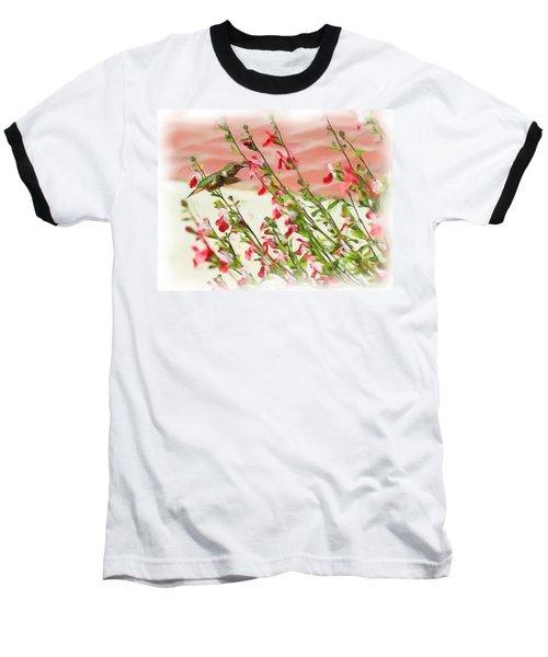 A Garden Delight Baseball T-Shirt by Heidi Smith