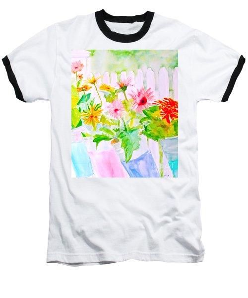 Daisy Daisy Baseball T-Shirt