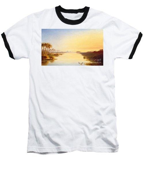 Egyptian Oasis Baseball T-Shirt