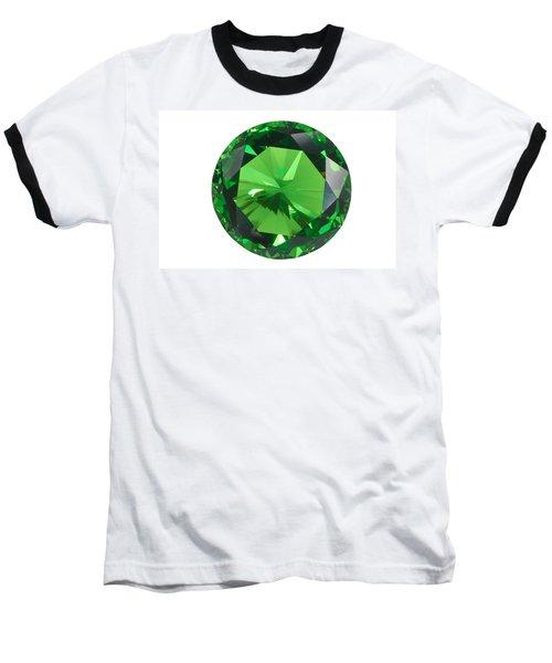 Emerald Isolated Baseball T-Shirt by Atiketta Sangasaeng