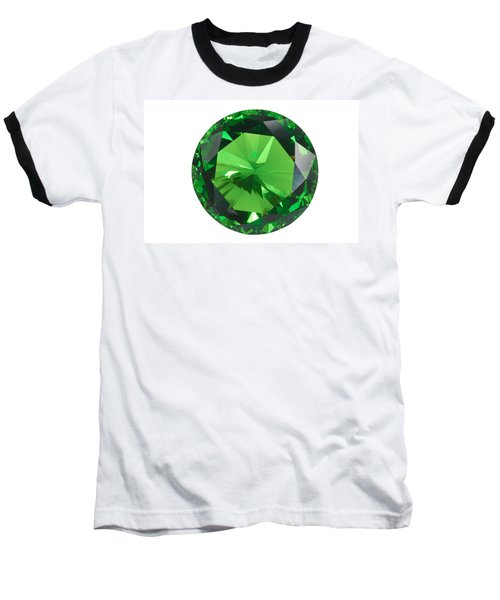 Emerald Isolated Baseball T-Shirt