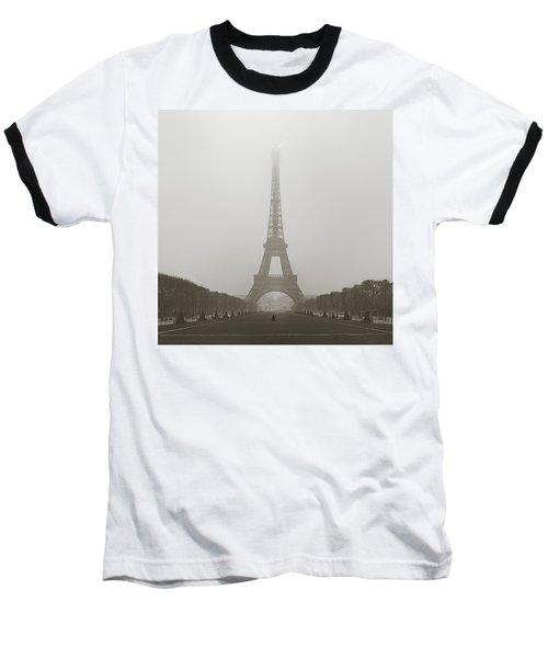 Foggy Morning In Paris Baseball T-Shirt