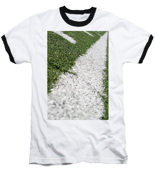 Baseball T-Shirt featuring the photograph Football Lines by Henrik Lehnerer