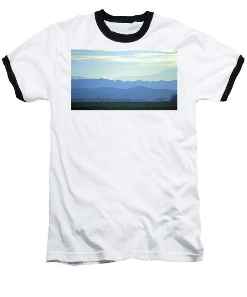 Baseball T-Shirt featuring the photograph Layers by Rima Biswas