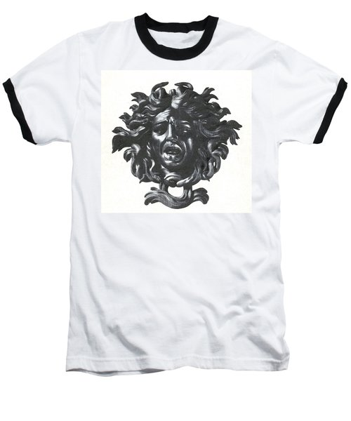 Medusa Head Baseball T-Shirt by Photo Researchers
