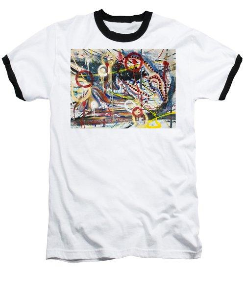 Metronomes Baseball T-Shirt by Sheridan Furrer