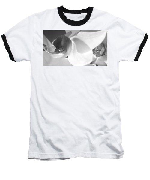 Orchid Baseball T-Shirt by Kume Bryant