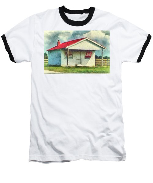 Baseball T-Shirt featuring the painting Royster Fertilizers  by Lynne Jenkins