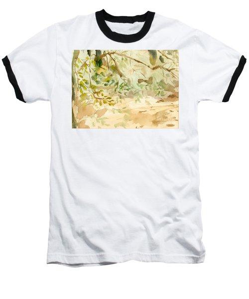 The Breeze Between Baseball T-Shirt by Daun Soden-Greene