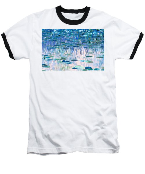 Baseball T-Shirt featuring the photograph Water Lilies by Chris Anderson