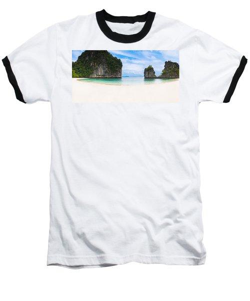 White Sandy Beach In Thailand Baseball T-Shirt