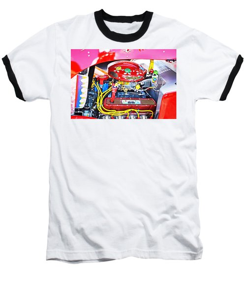 Baseball T-Shirt featuring the photograph 1933 M And M Hot Rod Ford by Paul Mashburn