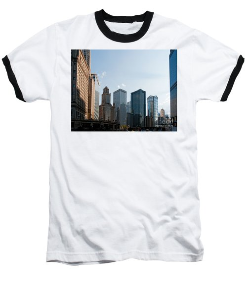 Chicago City Center Baseball T-Shirt by Carol Ailles