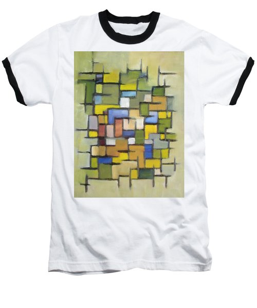 2012 Abstract Line Series Xx Baseball T-Shirt by Patricia Cleasby