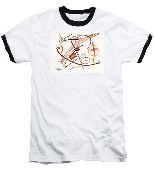 2012 Drawing #14 Baseball T-Shirt by Lynne Taetzsch