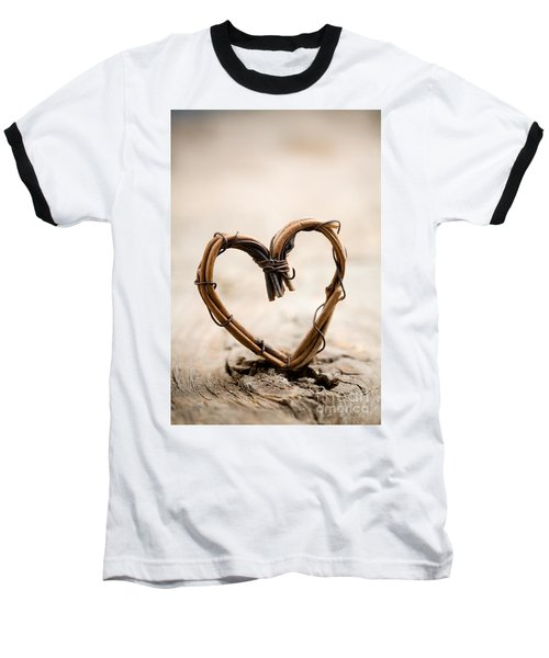 Valentine Heart Baseball T-Shirt