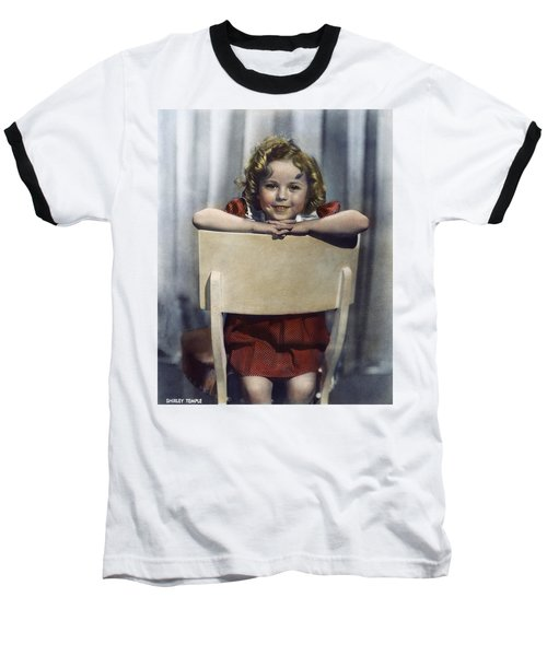 Shirley Temple (1928- ) Baseball T-Shirt