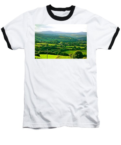 Baseball T-Shirt featuring the photograph 50 Shades Of Green by Charlie and Norma Brock