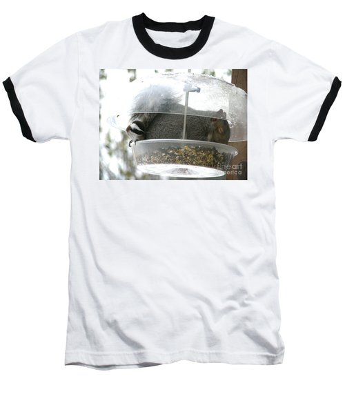 Baseball T-Shirt featuring the photograph A Bit Crowded by Rory Sagner