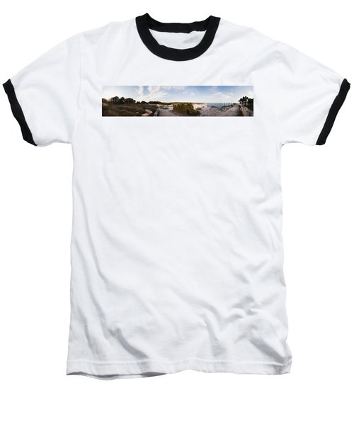 Access To The Beach Of Es Trenc Baseball T-Shirt