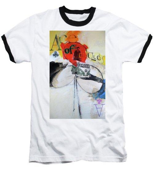 Ace Of Clubs 36-52 Baseball T-Shirt
