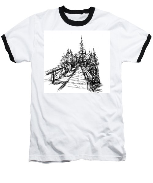 Across The Bridge Baseball T-Shirt
