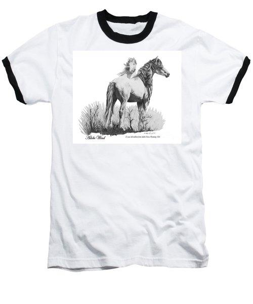 Adobe Wind Baseball T-Shirt