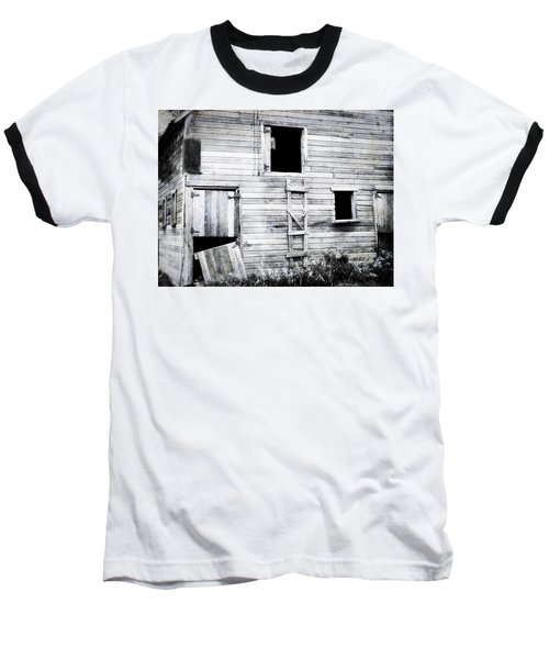 Aging Barn  Baseball T-Shirt