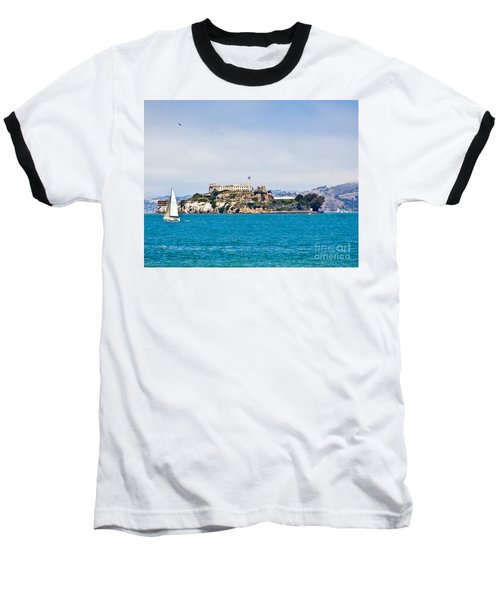 Alcatraz - San Francisco Baseball T-Shirt