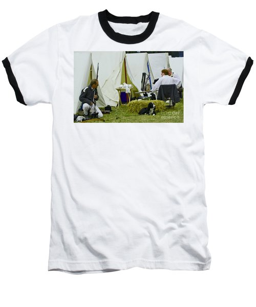 American Camp Baseball T-Shirt by JT Lewis