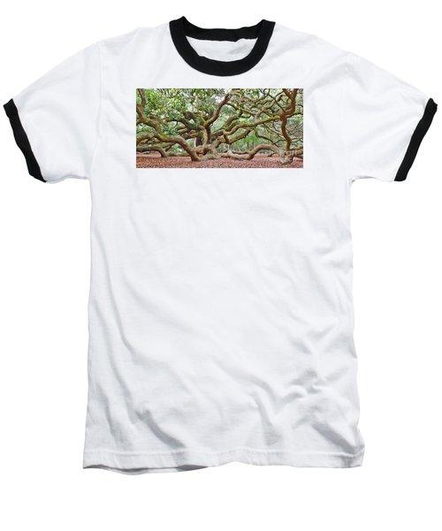 Baseball T-Shirt featuring the photograph Angel Oak by Val Miller