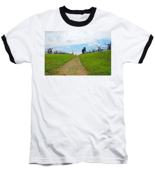 Baseball T-Shirt featuring the photograph Antietam Battle Of Bloody Lane by Cindy Manero