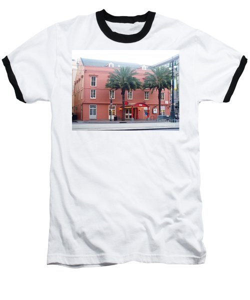 Baseball T-Shirt featuring the photograph Arby's At Dawn by Alys Caviness-Gober