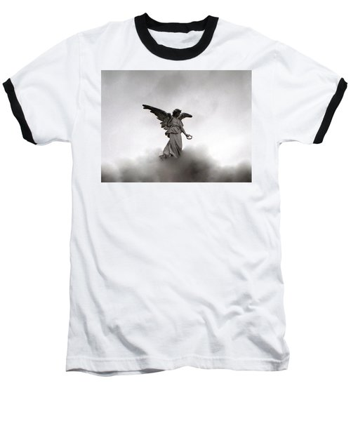 Armless Angel Baseball T-Shirt