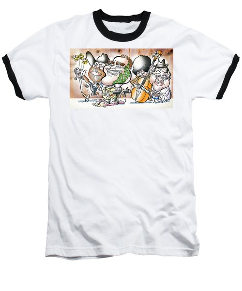 Arnold And The Terminators Baseball T-Shirt