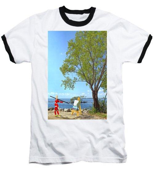 Artist's Art Baseball T-Shirt