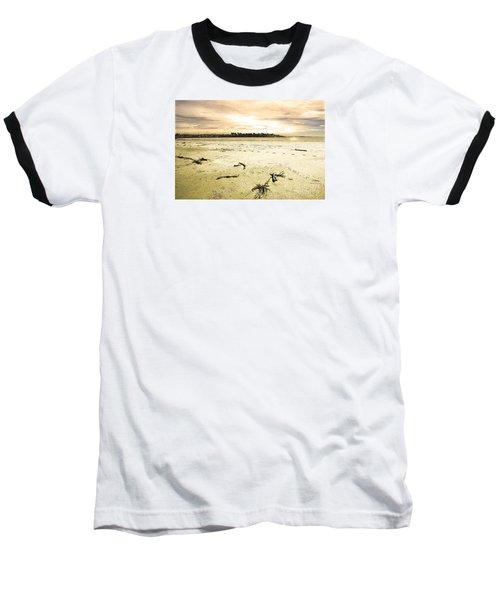 Baseball T-Shirt featuring the photograph At Caroline Bay Timaru New Zealand by Nareeta Martin