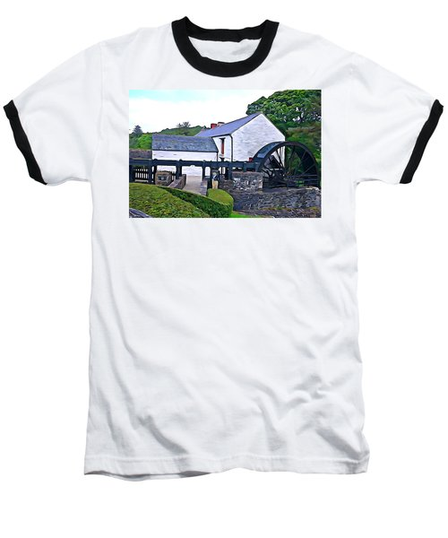 Baseball T-Shirt featuring the photograph Auld Mill  by Charlie and Norma Brock